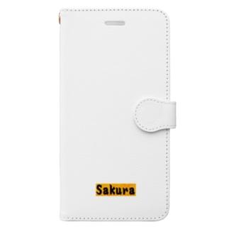 Sakura グッズ Book-style smartphone case