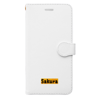 アメリカン★ベース        のSakura グッズ Book style smartphone case
