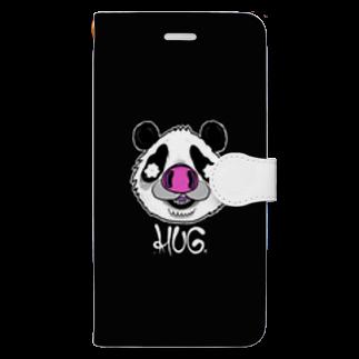 HUGオフォシャルショップのPandrew Black Book-style smartphone case