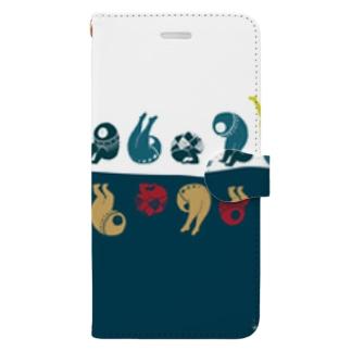 でんぐり Book style smartphone case
