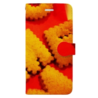 ビスケット Book-style smartphone case