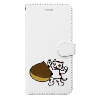 【前田デザイン室 ニャン-T プロジェクト】クリエイティブじゃみぃ Book-style smartphone case