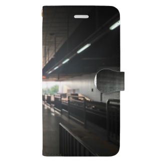 Gyeongwi Line Book-style smartphone case