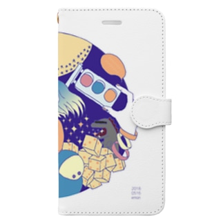 夢のなかへ Book style smartphone case