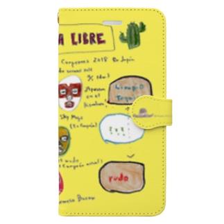 マスクマンの祭典。(フルカラーver.) Book-style smartphone case