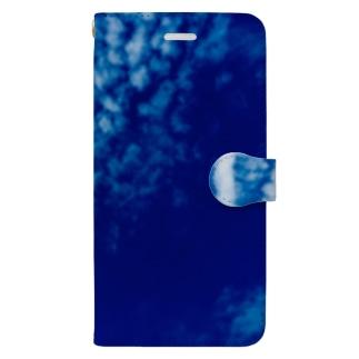 都会の秋空 Book-style smartphone case