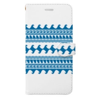 wave Book-style smartphone case