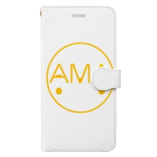 「AMA猫ちゃん」 Book-style smartphone case