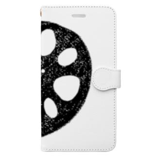 れんこん Book-style smartphone case