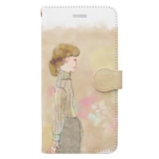 friend① Book-style smartphone case