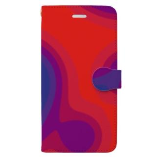 サーモグラフィー2 Book-style smartphone case