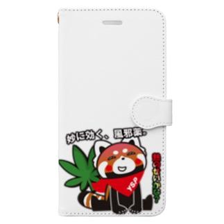 熱で少しおかしくなるYSパンダ Book-style smartphone case
