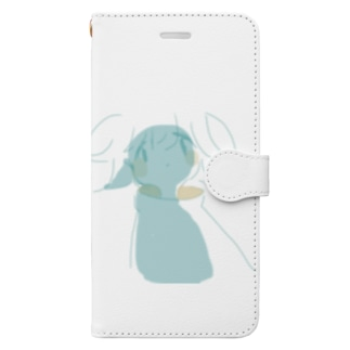 宇宙人 Book-Style Smartphone Case