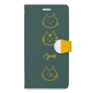 にゃ Book-style smartphone case