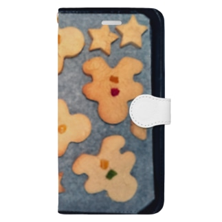 gingerbread man Book style smartphone case