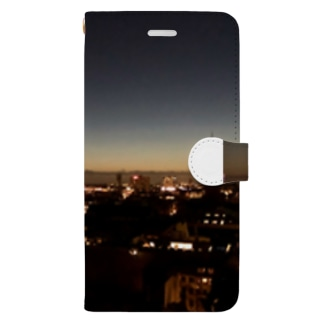 Copenhagen nightview Book-style smartphone case