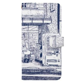 田舎の本屋さん Book-style smartphone case