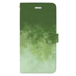 Willow (Green) 手帳型スマートフォンケース