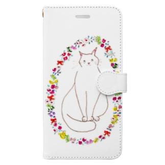おはなちゃん Book-style smartphone case