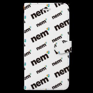 TURBO SHOPのnem-04 Book-style smartphone case