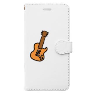 レスポール Book-style smartphone case