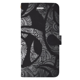 BLACK&BLACK TRIBAL Book-style smartphone case