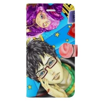 ご縁、結びます! Book-style smartphone case