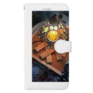 光の中に Book-style smartphone case