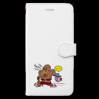 くまごんたのactive tokyo Book-style smartphone case