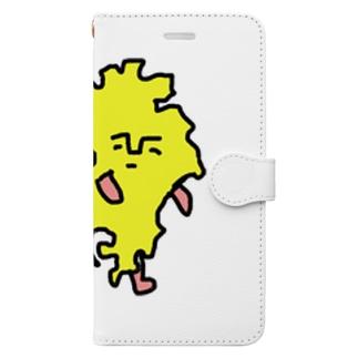 クスオくん(九州男) Book-style smartphone case