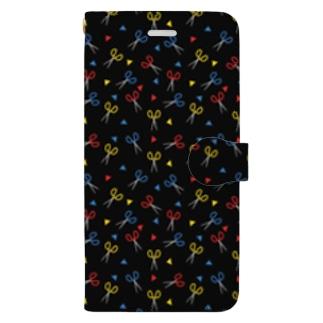 はさみ Book-style smartphone case