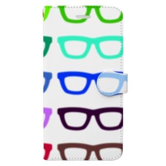 GLASSES Book-style smartphone case