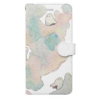 君の夢とおばけ Book-style smartphone case