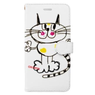 キャットちゃん  Book-style smartphone case
