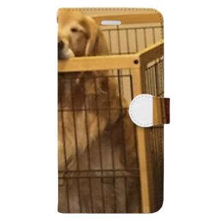 うちの犬 Book-style smartphone case