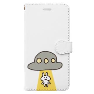 うさ村さん Book style smartphone case