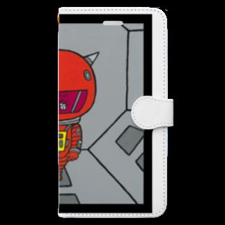 MAMESTORE / for SAMPLEの2019:A  SPACE ODYSSEY 手帳型スマートフォンケース