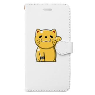 @ねこ Book-style smartphone case