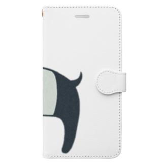 ゆめをバクバク Book-style smartphone case