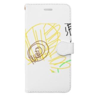 ht-himawari Book style smartphone case