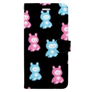 ほねくま Book-style smartphone case
