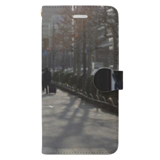 みなみあおやまストリート、冬 Book-style smartphone case