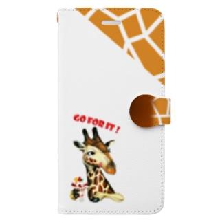 キリン×ストロベリー Book style smartphone case