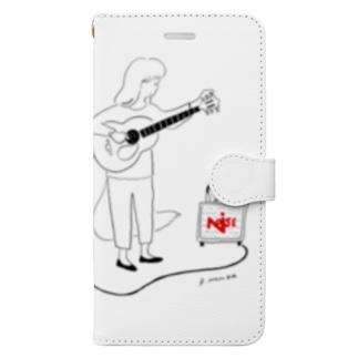 町田ノイズ×本田亮 Book-style smartphone case