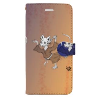 lost control (until dawn ver.) Book-style smartphone case