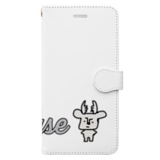拗らせ鹿BUSHIKA(第2話) Book-style smartphone case