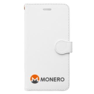 Monero モネロ Book-style smartphone case