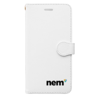 NEM ネム Book style smartphone case