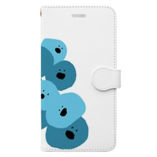 めんまのさいぼぼ Book-style smartphone case