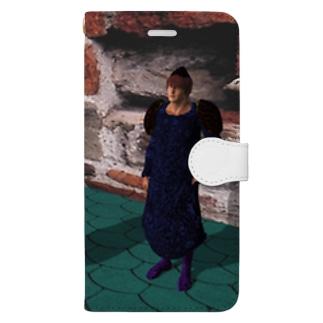 魔法学園 Book-style smartphone case